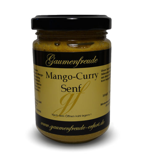 Mango-Curry Senf