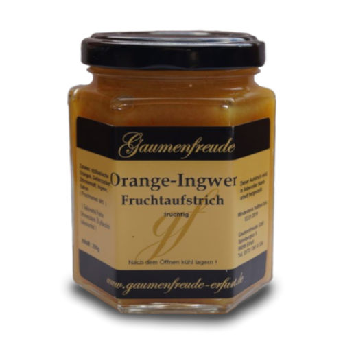 Fruchtaufstrich Orange-Ingwer